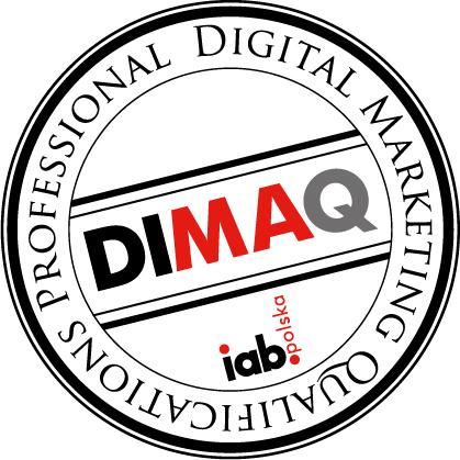 DIMAQ logo stempel